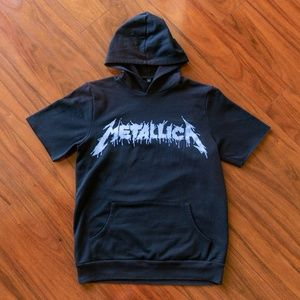 Metallica World Magnetic Tour Sleeveless Hoodie